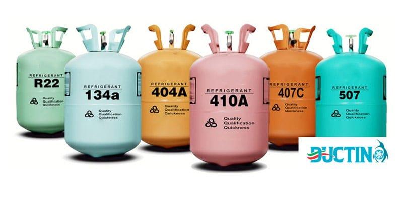 سیال فعال سیکل تراکم تبرید بخار-گاز فریون